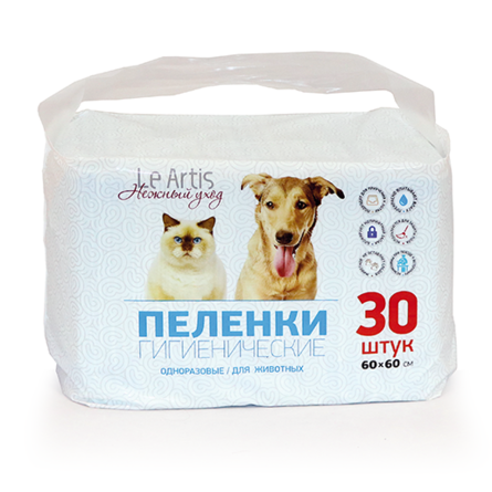 Пеленки для домашних животных Le Artis