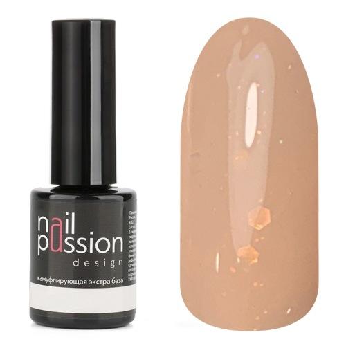 База Nail Passion для ногтей Peach Shine