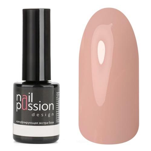 Nail Passion, База Rose, 10 мл