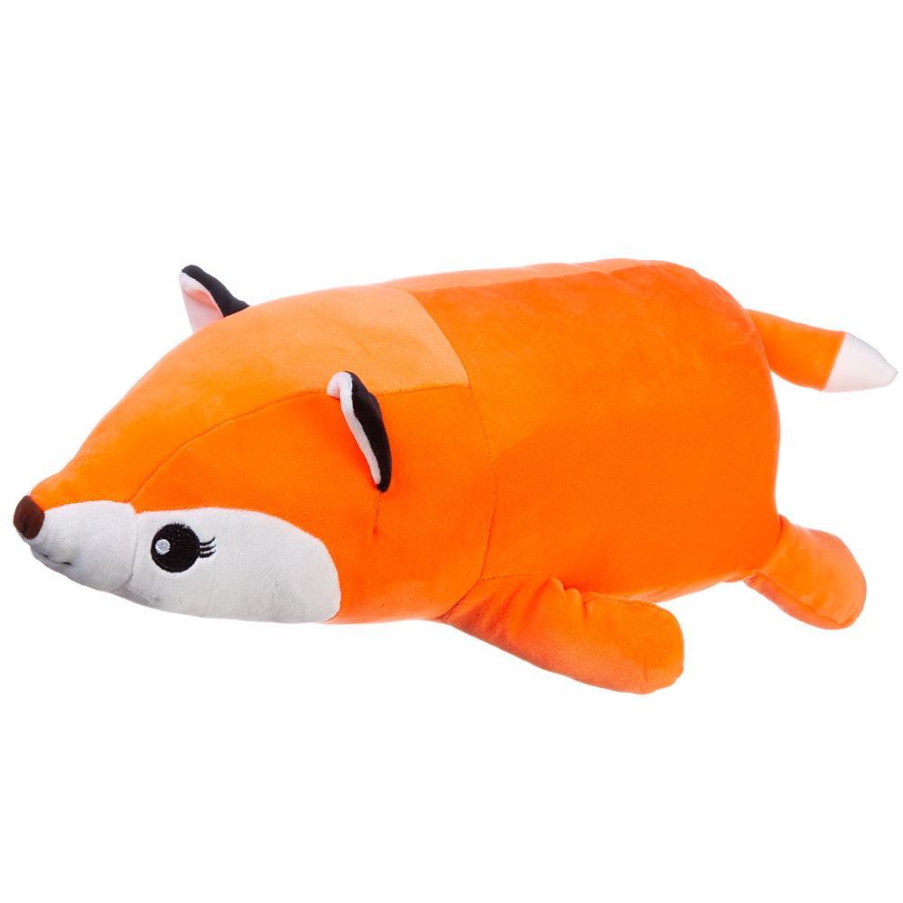 Купить Мягкая игрушка ABtoys Super soft, Лисичка рыжая, 45 см,