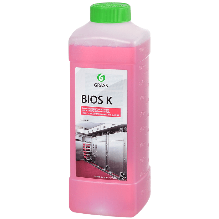 Моющее средство и индустриальный очиститель Grass bios