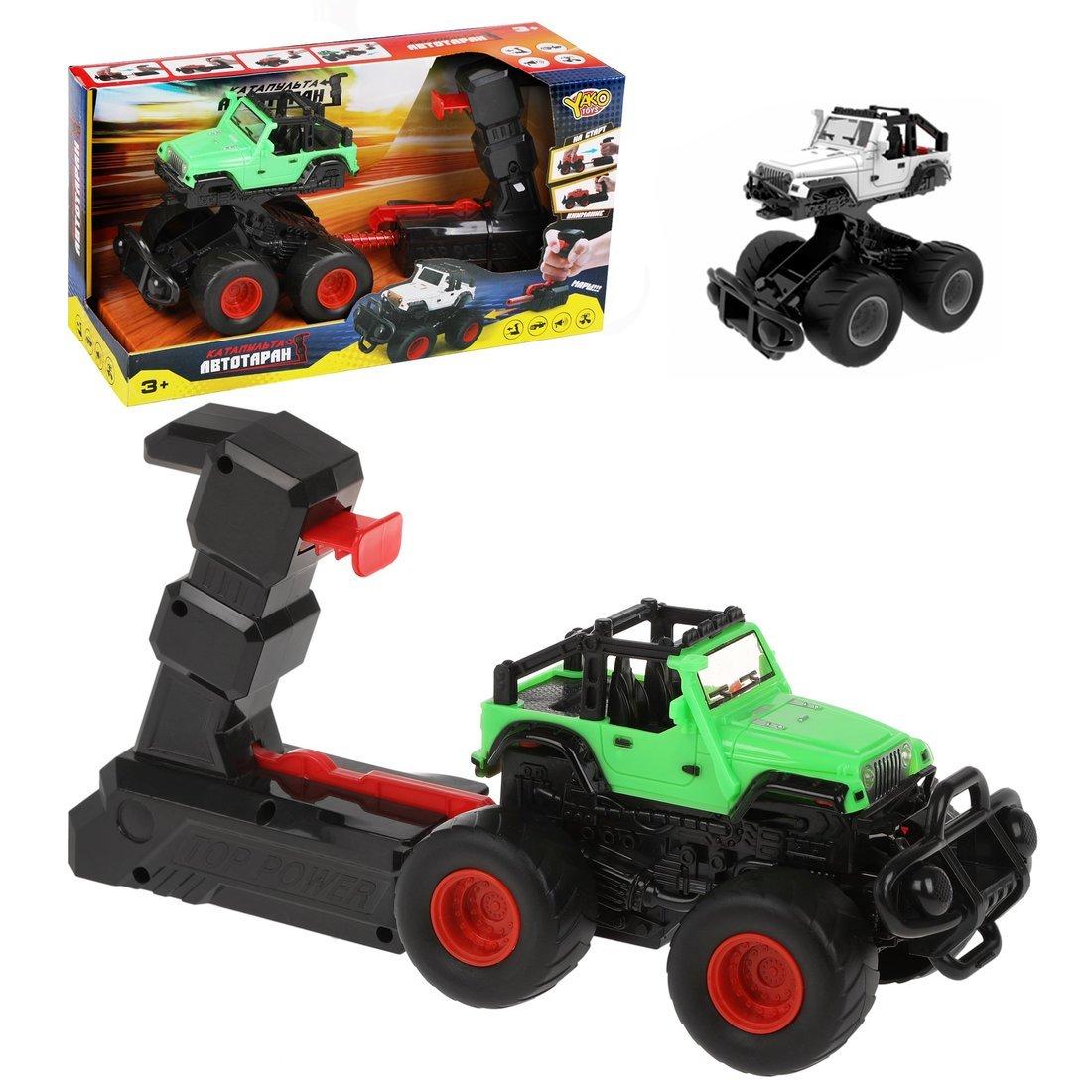 Купить Игровой набор Наша Игрушка Автотаран, устройство для запуска, звук M0297-28, Наша игрушка,