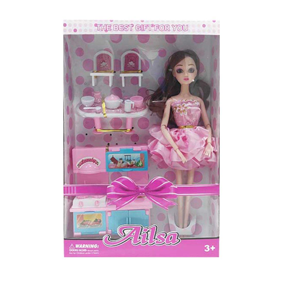 Купить Модница , 29 см, 10 предметов, Кукла Наша Игрушка Модница, 10 предметов H174, Наша игрушка,