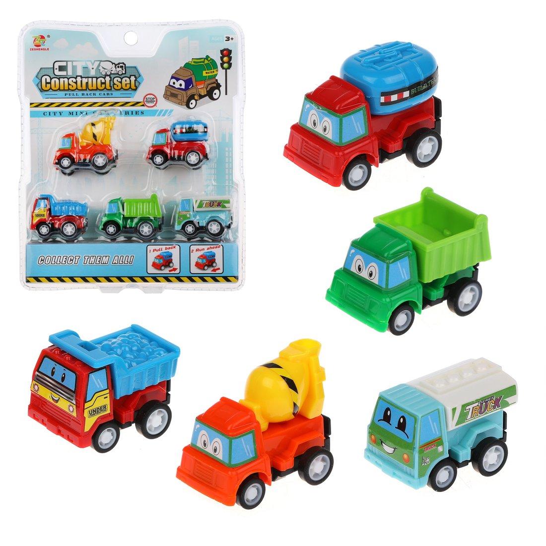 Купить Игровой набор Наша Игрушка Стройка, 5 шт, инерция 977-18C, Наша игрушка,