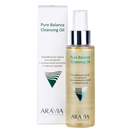 Купить Professional, Гидрофильное масло ARAVIA Laboratories, Pure Balance, 110 мл, Aravia Professional