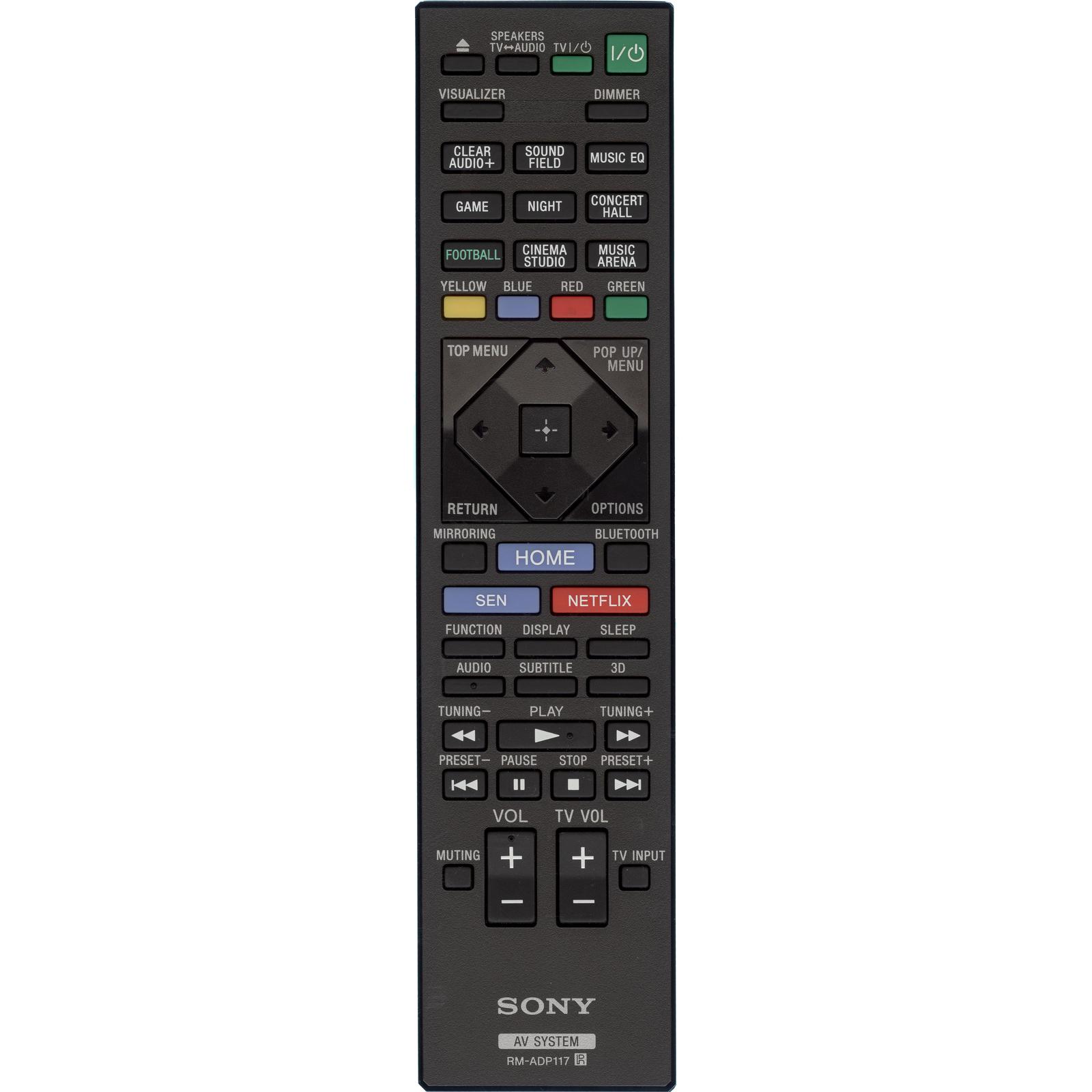Пульт Sony RM-ADP117