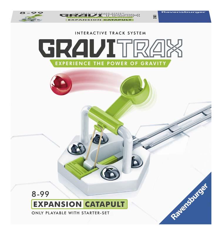 Купить Дополнительный набор к конструктору Ravensburger GraviTrax 'Катапульта', Дополнительный набор к конструктору Ravensburger GraviTrax Катапульта ,