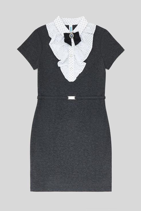 Купить 20240200055, Платье детское Acoola цв. серый р.122,