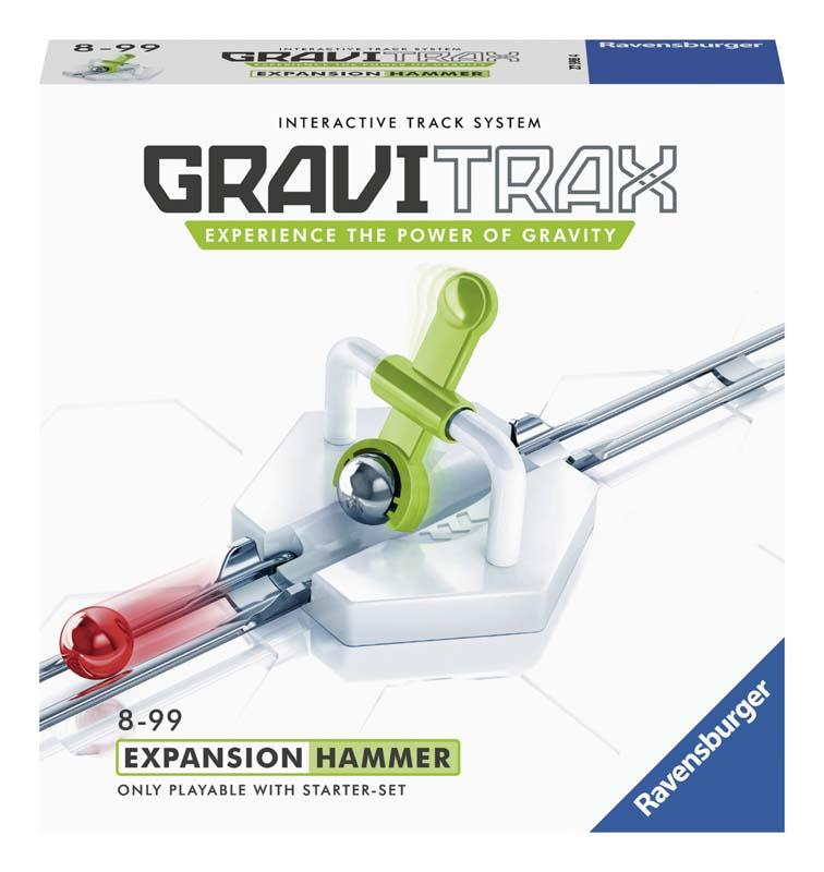 Купить Дополнительный набор к конструктору Ravensburger GraviTrax 'Молоток', Дополнительный набор к конструктору Ravensburger GraviTrax Молоток ,