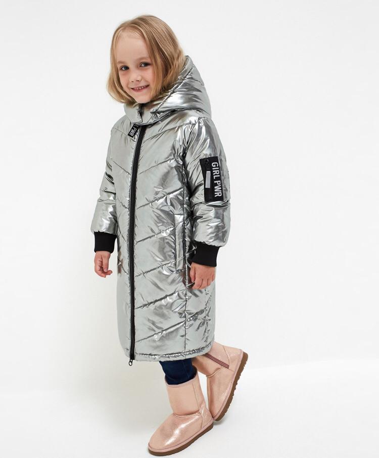Зимнее стеганое пальто длины миди Acoola, р. 122 20220130151