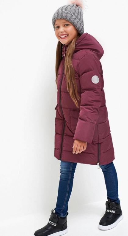 Куртка детская для девочек Acoola Karolin цв. вишневый, р. 140 20210130157