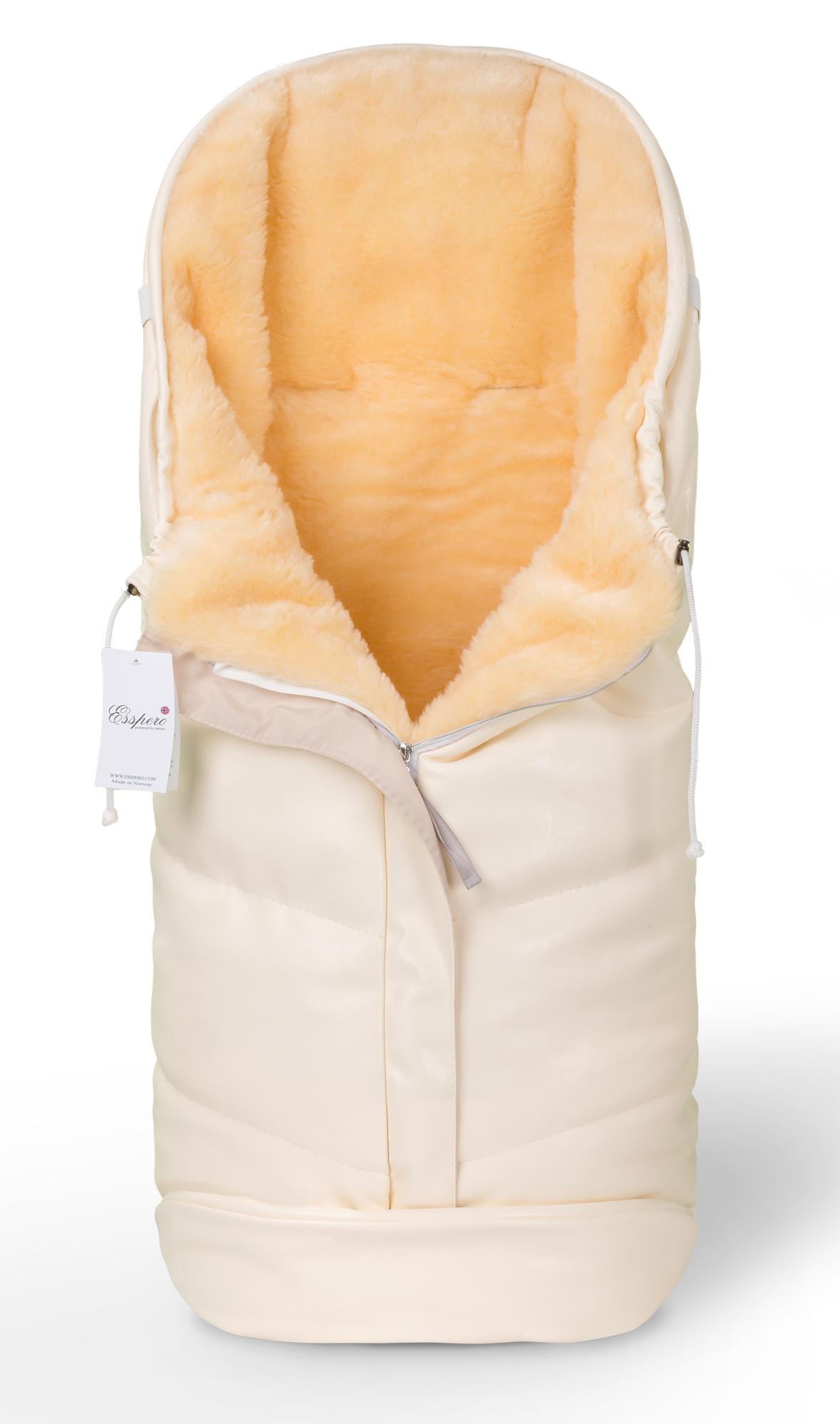 Купить Конверт в коляску Esspero Sleeping Bag Lux Beige,