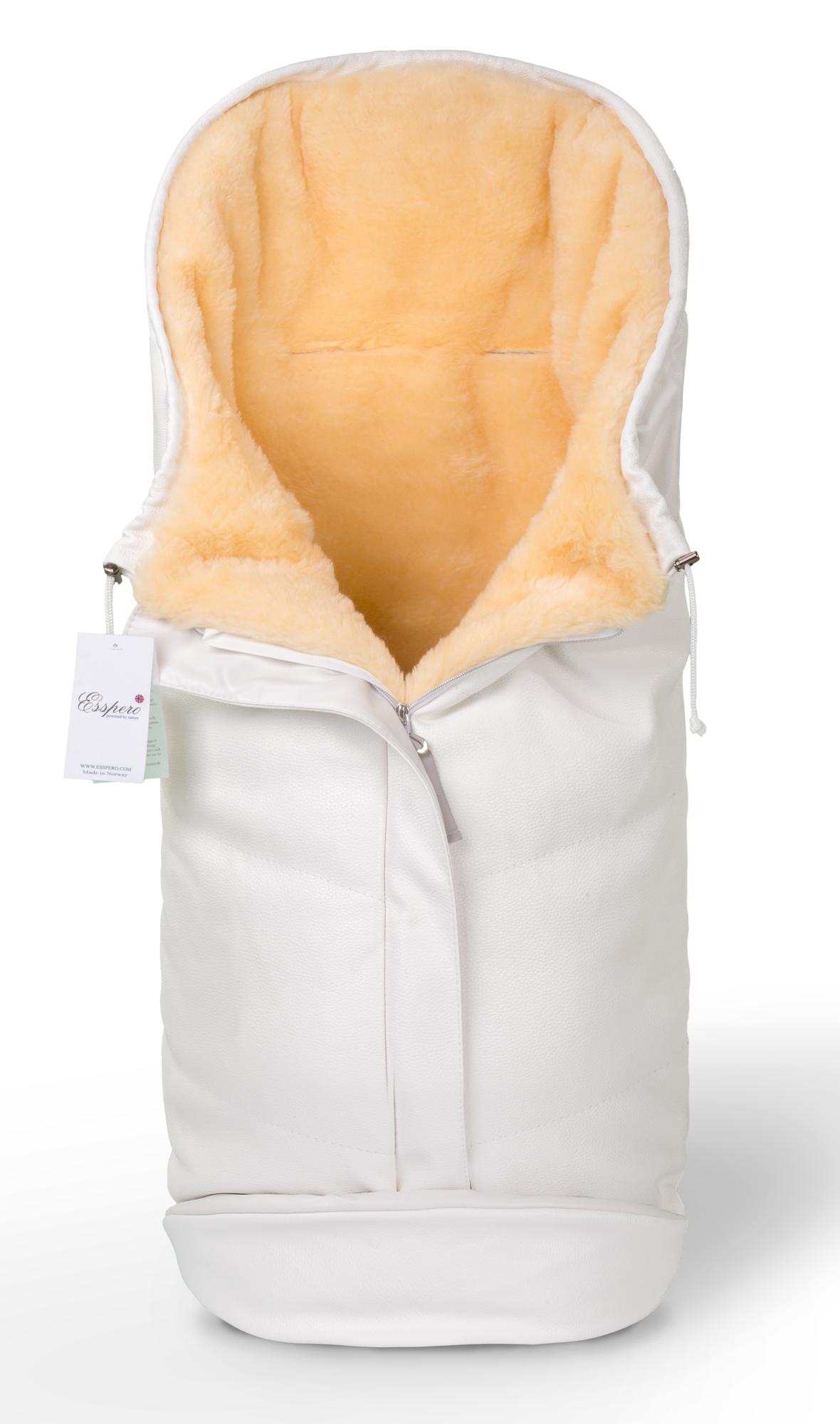 Купить Конверт в коляску Esspero Sleeping Bag Lux White,