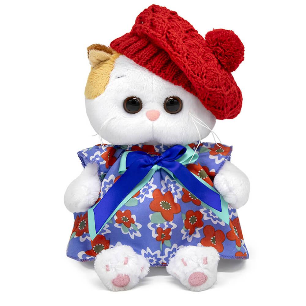 Купить Мягкая игрушка Кошечка Ли-Ли BABY в платье и ажурном берете, 20 см Budi Basa,