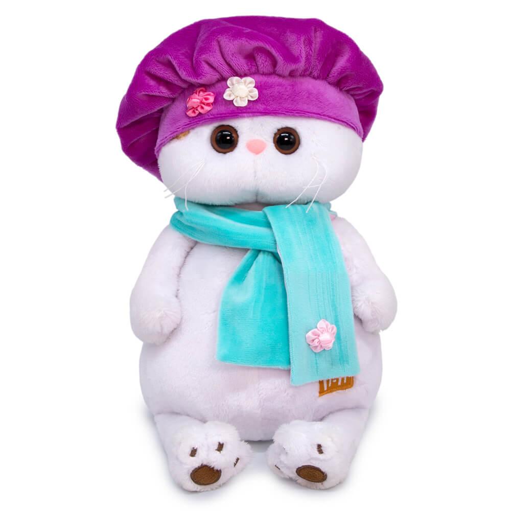 Купить Мягкая игрушка Кошечка Ли-Ли в берете, 24 см Budi Basa,