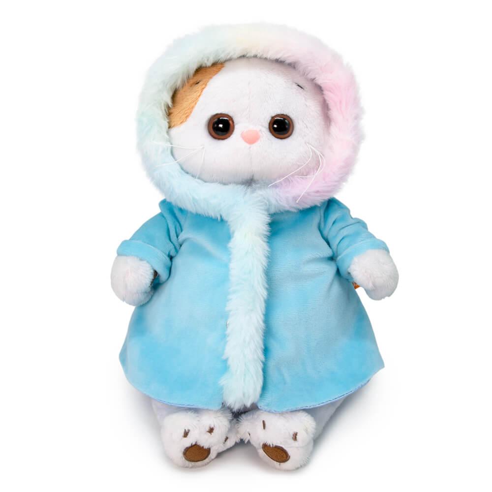 Купить Мягкая игрушка Ли-Ли в шубке с радужным мехом, 24 см, арт. LK24-069 Budi Basa,
