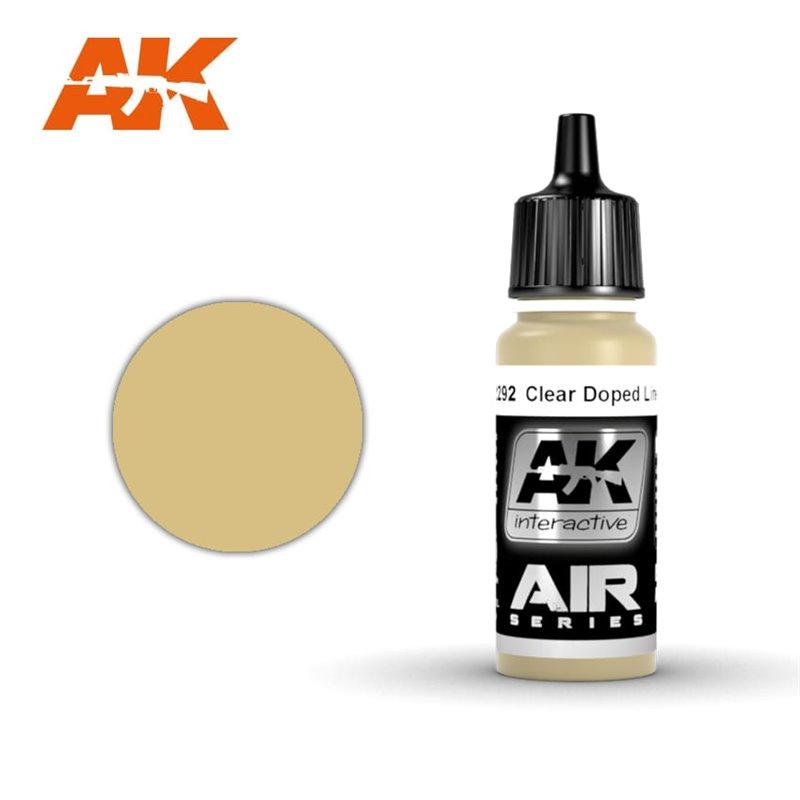 Купить Краска акриловая AK Interactive Clear Doped Linen ver.2,
