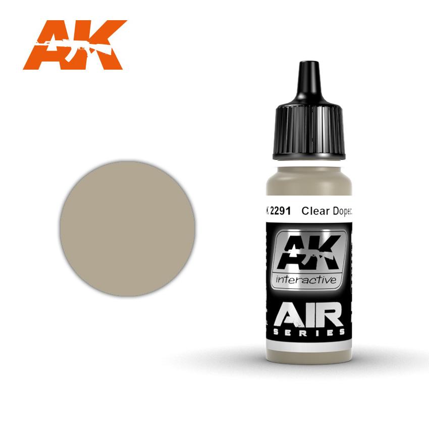 Купить Краска акриловая AK Interactive Clear Doped Linen,