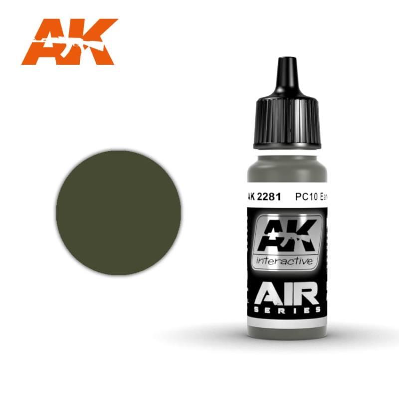 Купить Краска акриловая AK Interactive PC10 Early,