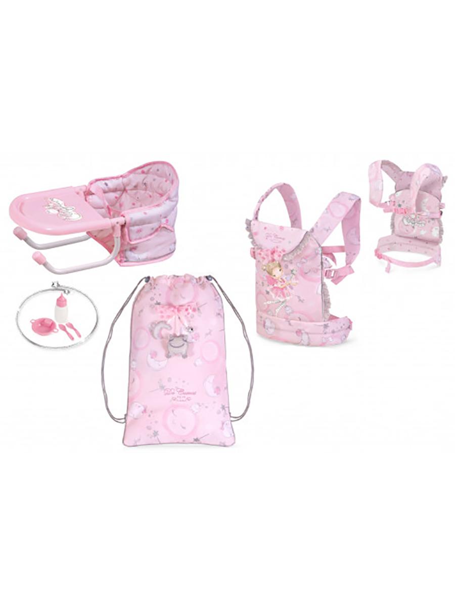 Купить Стульчик переносной для кормления куклы серии Мария в наборе с аксессуарами 60034, DeCuevas,