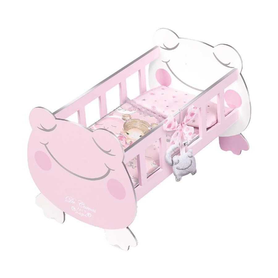 Купить Кроватка для куклы с аксессуарами серии Мария, 49, 5 см 55134, DeCuevas,