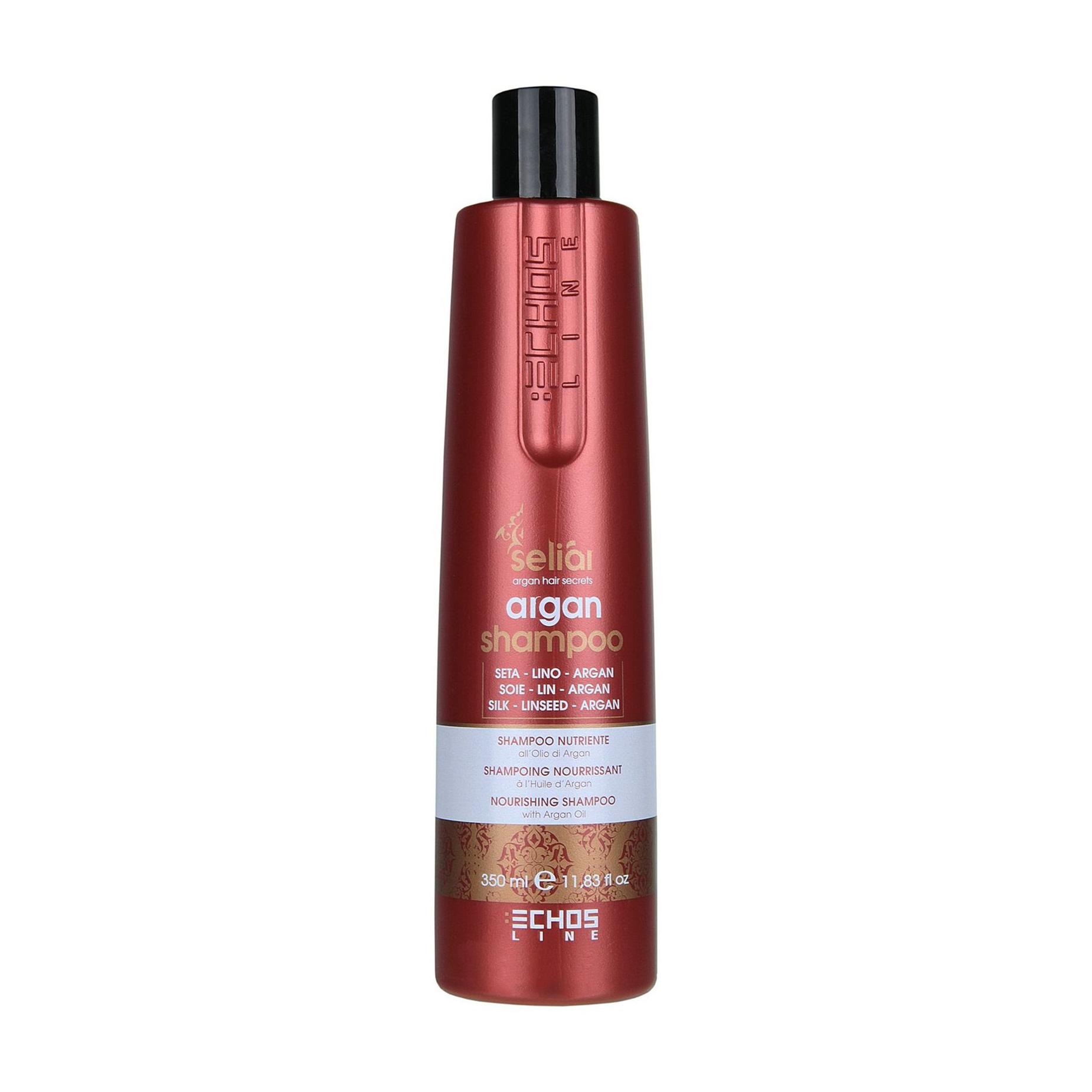 Купить Шампунь для волос Echos Line Seliar с аргановым маслом, 350 мл