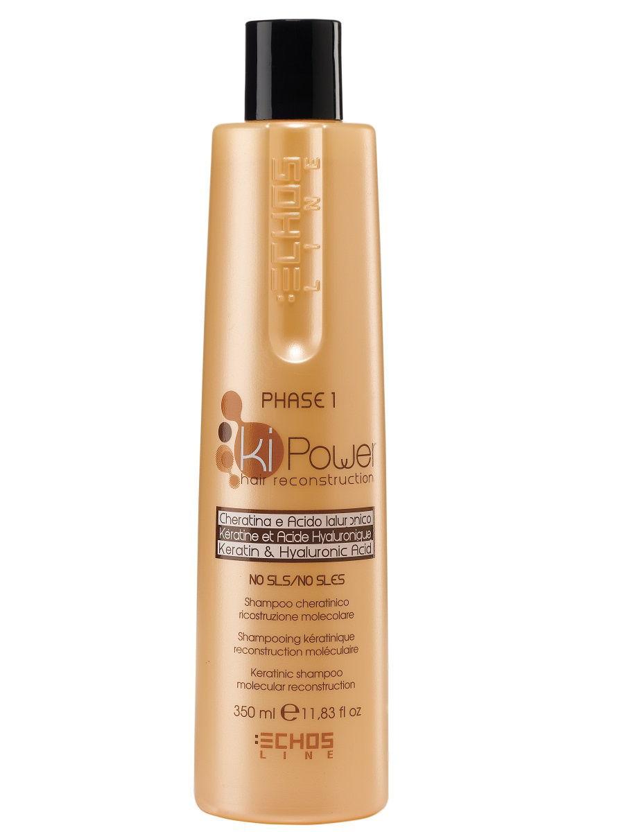 Купить Шампунь для волос Echos Line Ki-Power кератиновый, 350 мл, Echos Line Ki-Power Шампунь для волос кератиновый