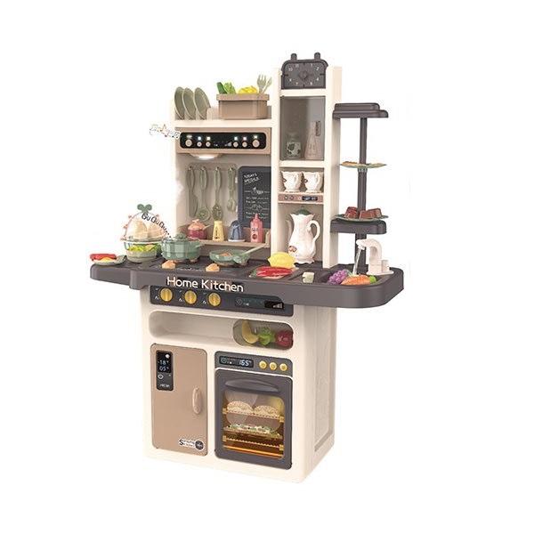 Купить Кухня детская Modern Kitchen 889-211 вода, свет, пар, музыка, 65 предметов,