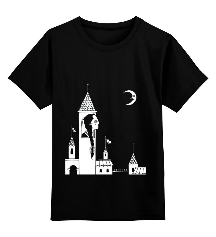 Купить 0000000735857, Детская футболка Printio дедвиль цв.черный р.164,