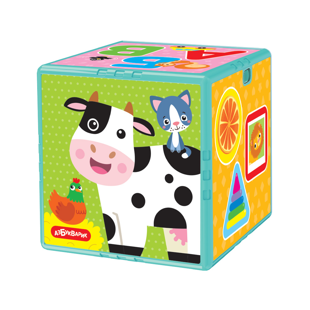 Купить Игрушка Азбукварик Говорящий кубик, Первые знания 2800,