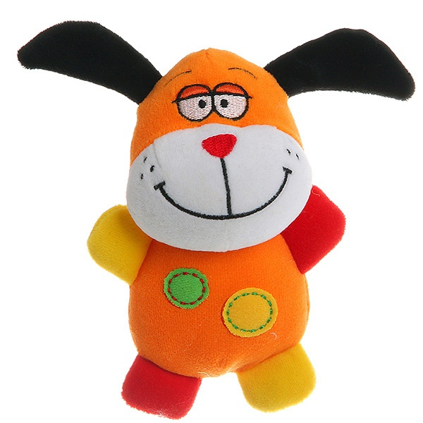 Мягкая игрушка Bondibon 14 см, Собака, 19*15 см