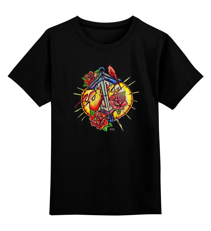 Детская футболка Printio Lantern т ж цв.черный р.104 0000000732835 по цене 871