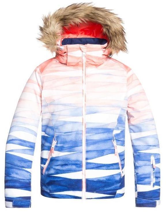 Куртка сноубордическая Roxy Jet Ski Girl Mid Denim Yumi Yamada Print, р. 152