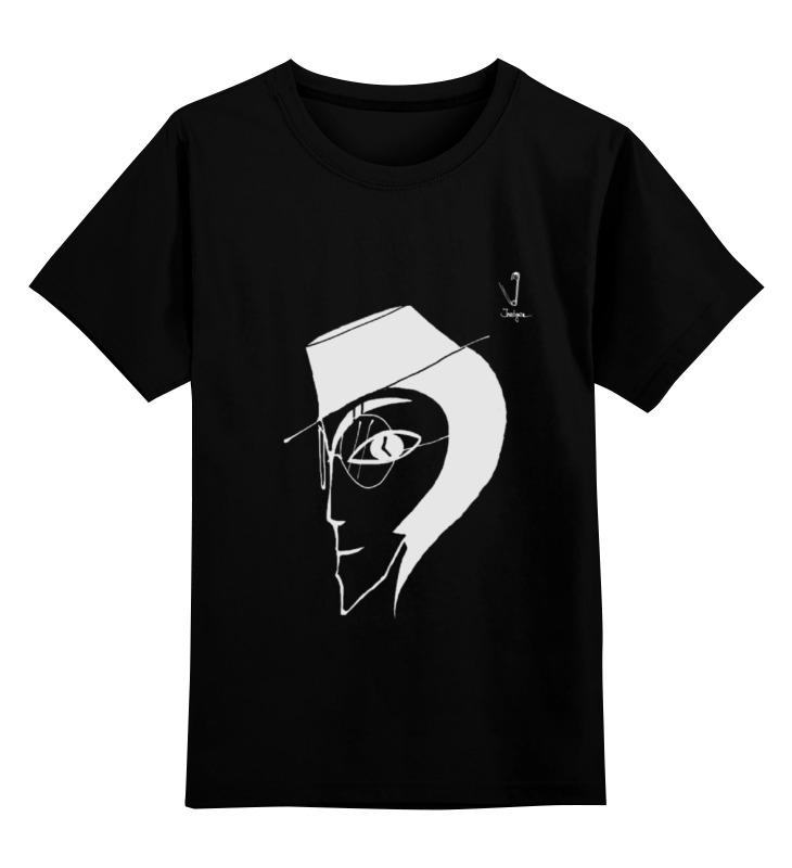 Детская футболка Printio Человек в шляпе цв.черный р.116 0000000738505 по цене 990