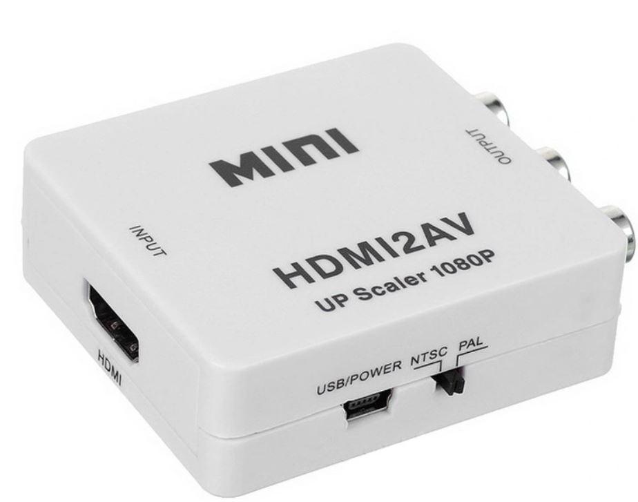 Конвертер HDMI на AV и аудио, HDMI