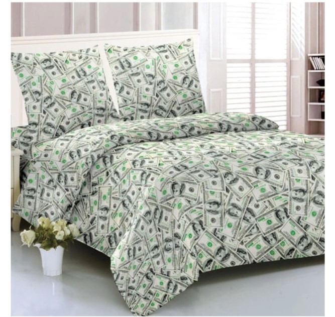Комплект постельного белья Amore Mio из макосатина