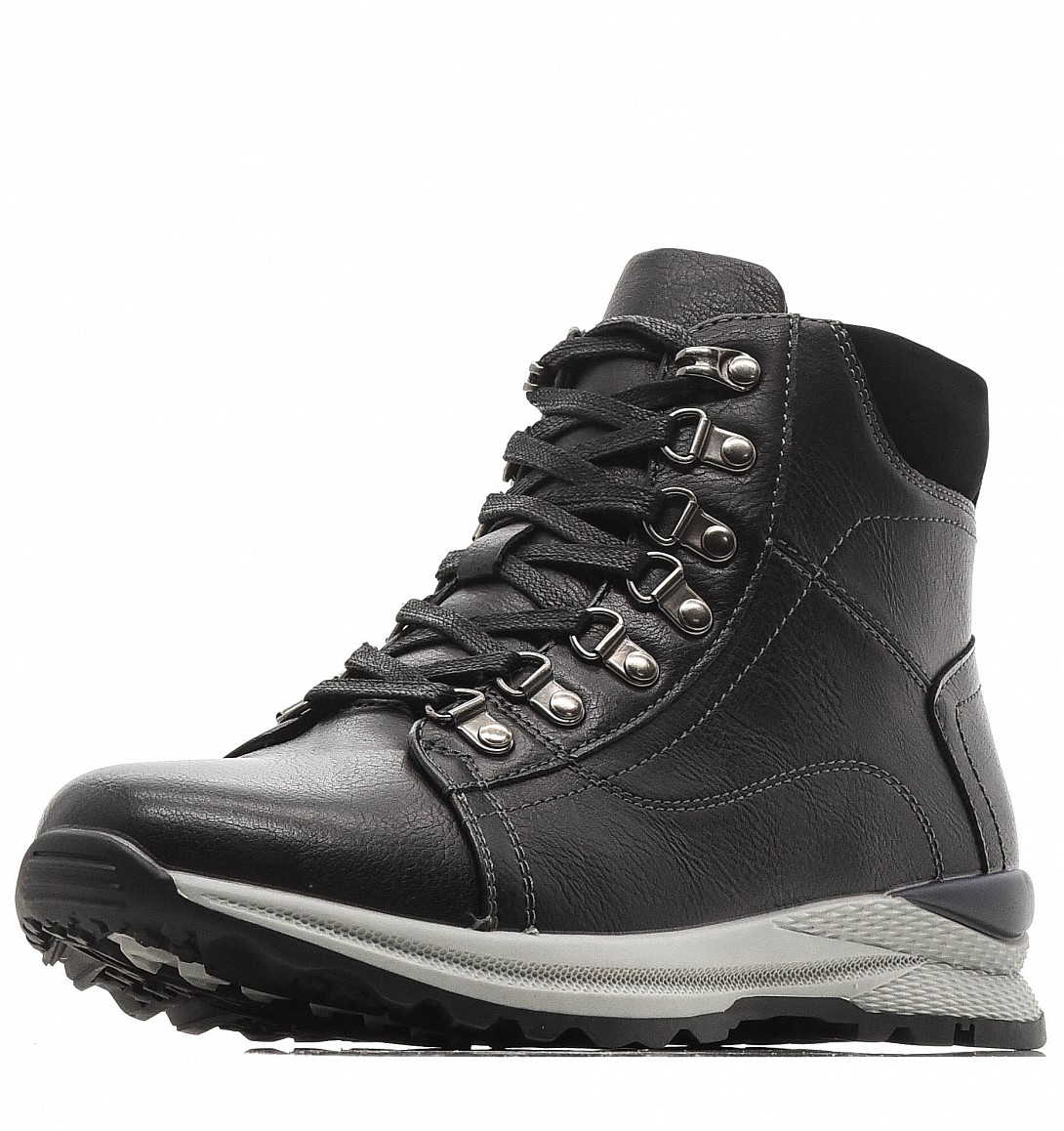 Купить 98-02BO-017SW, Ботинки для мальчиков ZENDEN, цв. черный, р-р 39,