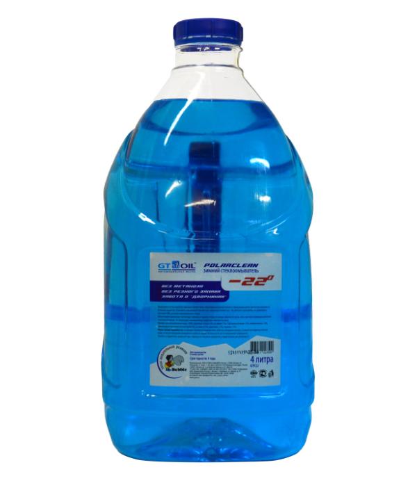 Жидкость омывателя незамерзающая GT OIL 4л