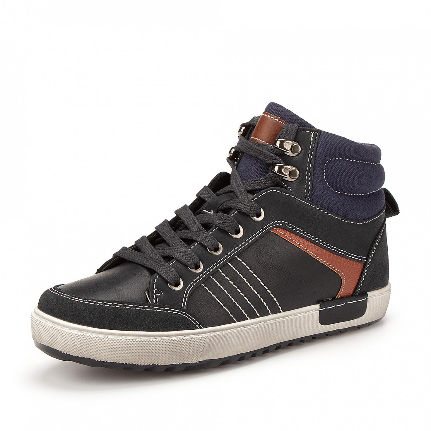 Купить 189-02BO-032SR, Ботинки для мальчиков ZENDEN, цв. синий, р-р 36,
