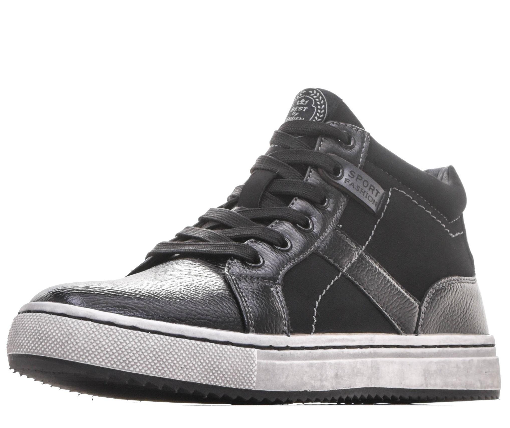 Купить 98-02BO-064SR, Ботинки для мальчиков ZENDEN, цв. черный, р-р 39,