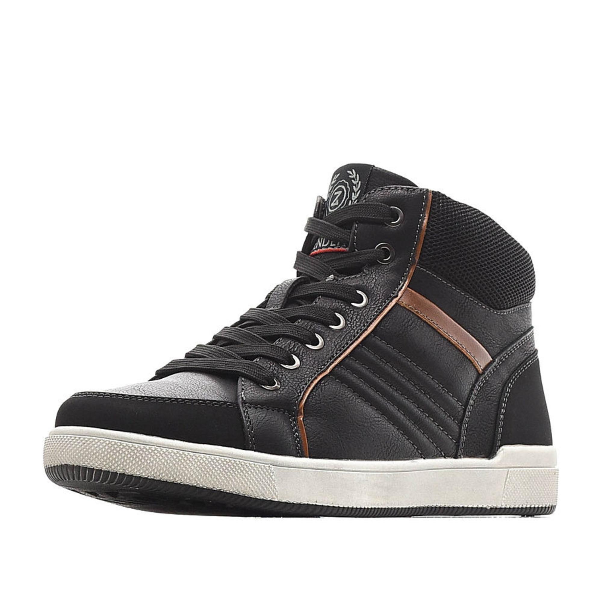 Купить 98-02BO-072SR, Ботинки для мальчиков ZENDEN, цв. черный, р-р 39,
