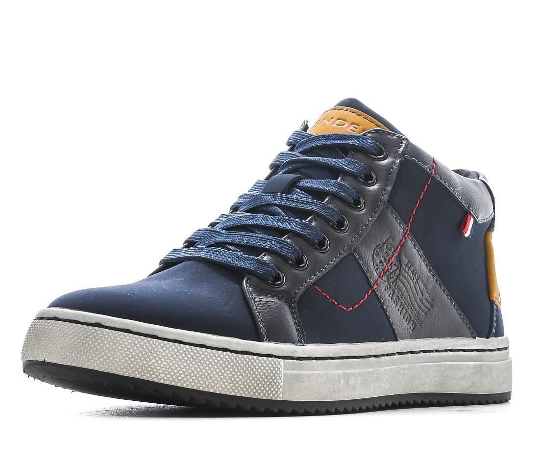 Купить 98-02BO-065SR, Ботинки для мальчиков ZENDEN, цв. синий, р-р 39,