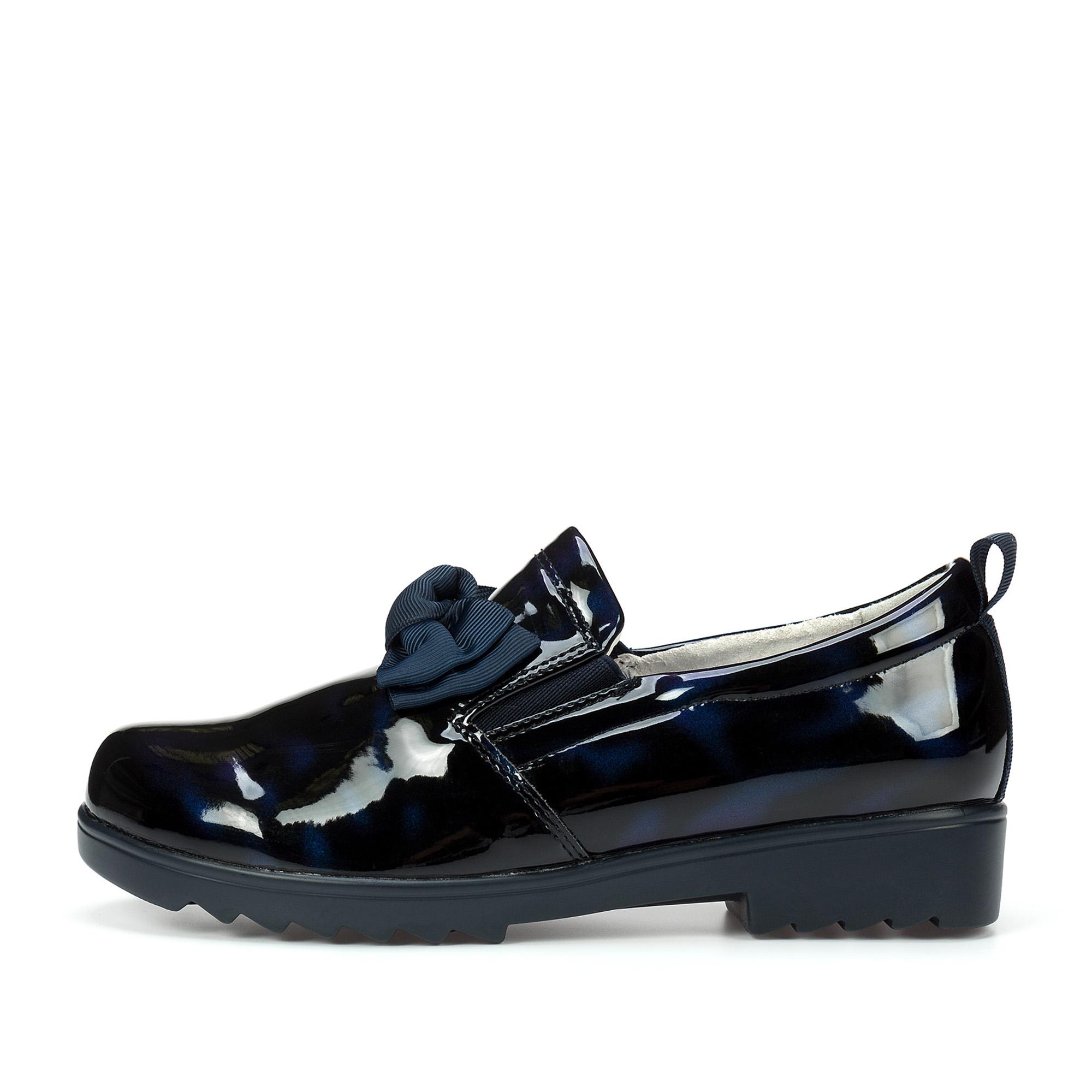 Купить 215-02GO-020DK, Туфли для девочек ZENDEN, цв. синий, р-р 32,
