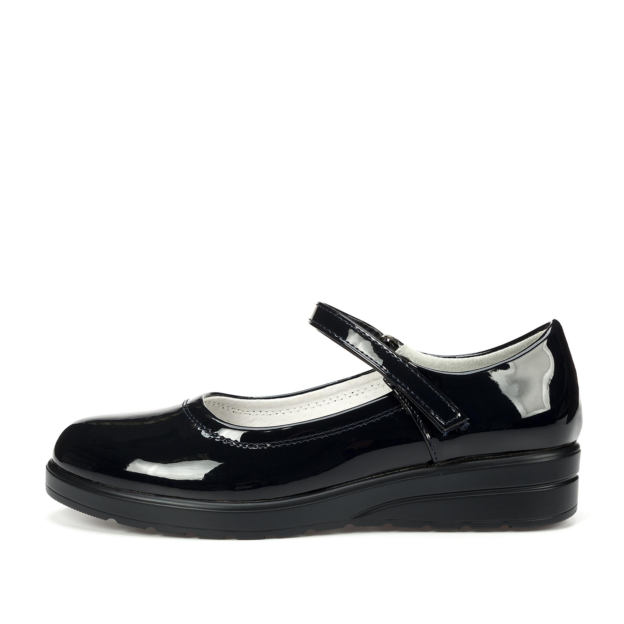 Купить 215-02GO-019DK, Туфли для девочек ZENDEN, цв. синий, р-р 32,