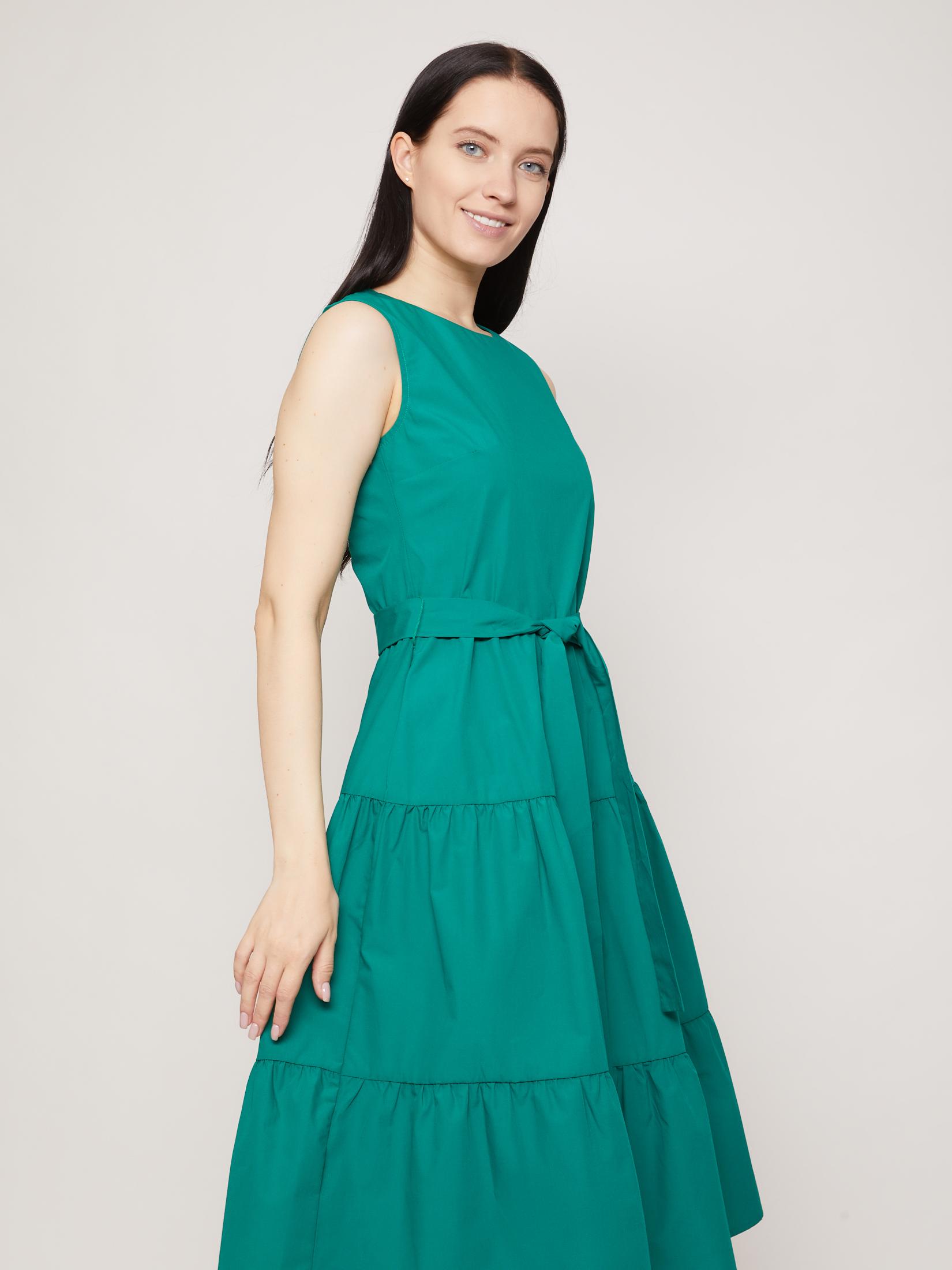 Платье женское Zolla z0212682912917000 зеленое L