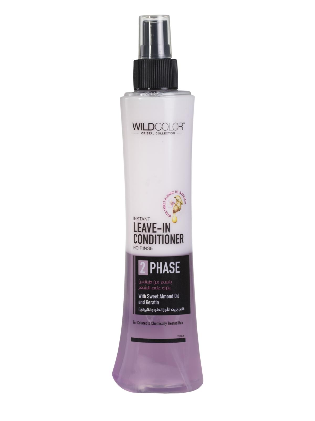 Купить Спрей-кондиционер WildColor для окрашенных волос с маслом сладкого миндаля 250 мл