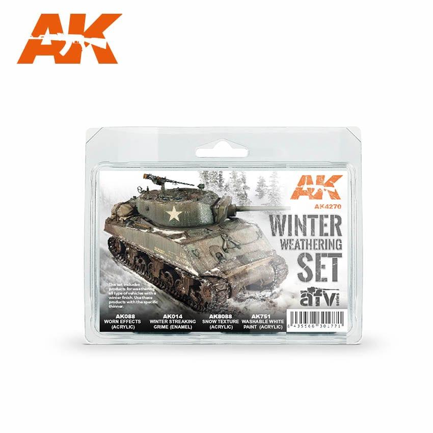 Набор для создания зимних эффектов AK Interactive AK-4270
