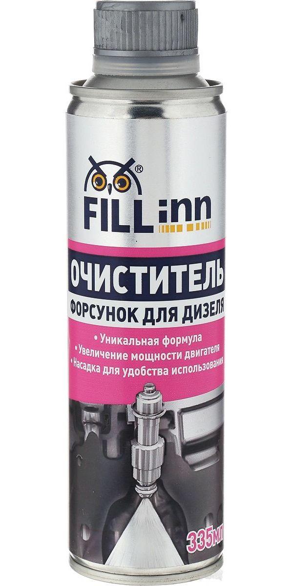 Очиститель Дизельных Форсунок 70 80л 335мл Fillinn