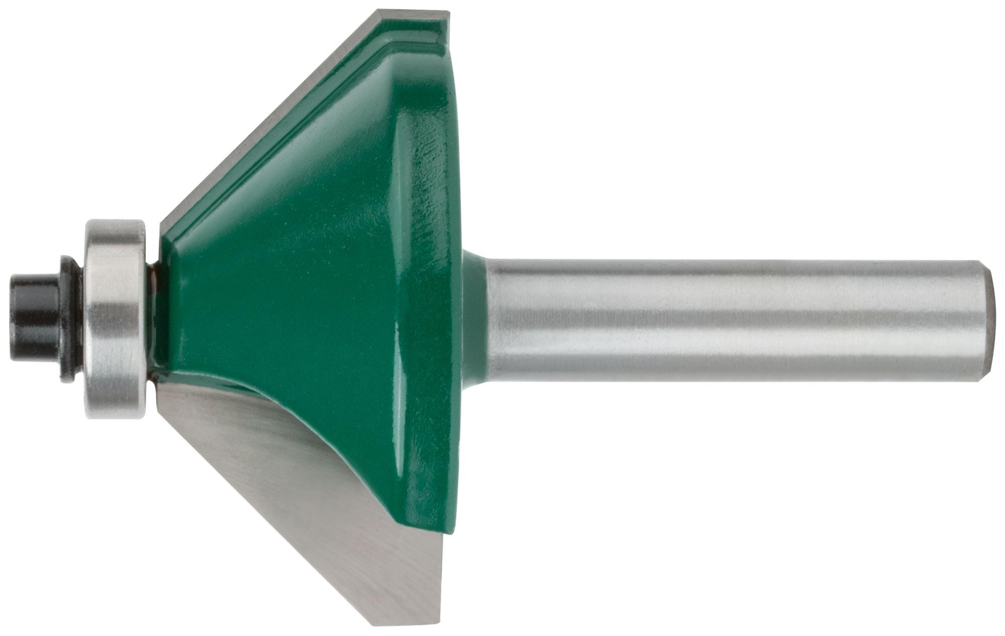 Фреза кромочная конусная с подшипником 40х18х62,8мм