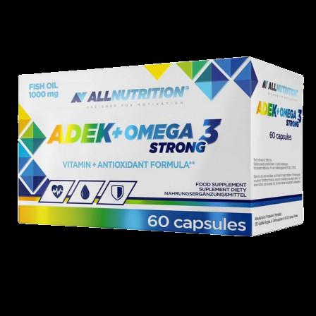 Купить ALLNUTRITION ADEK + Omega-3 Strong капсулы 60 шт.